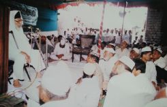 Maulana Abdul Karim Parekh at Makkah Masjid Foundation Ceremony